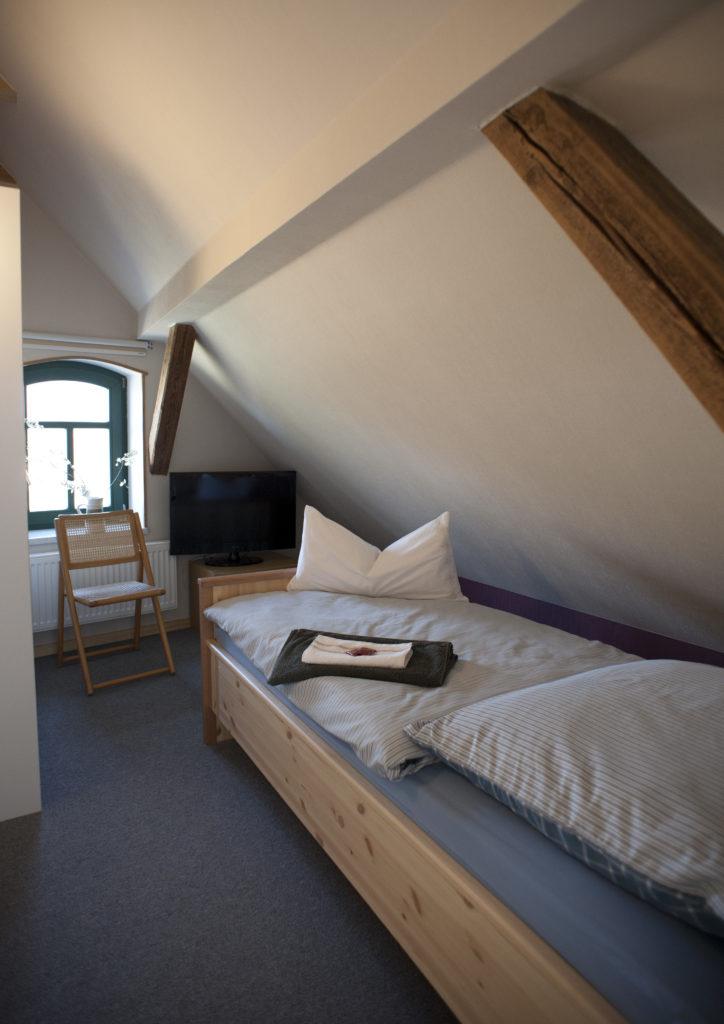 eines von zwei Einzelzimmern